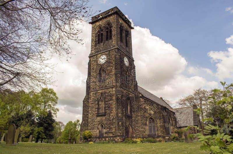 Église, Brampton, South Yorkshire photographie stock
