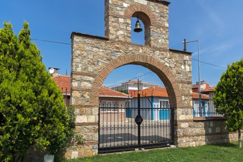 Église bulgare de saint Constantine et Ste.Hélène dans la ville d'Edirne, Turquie photos stock