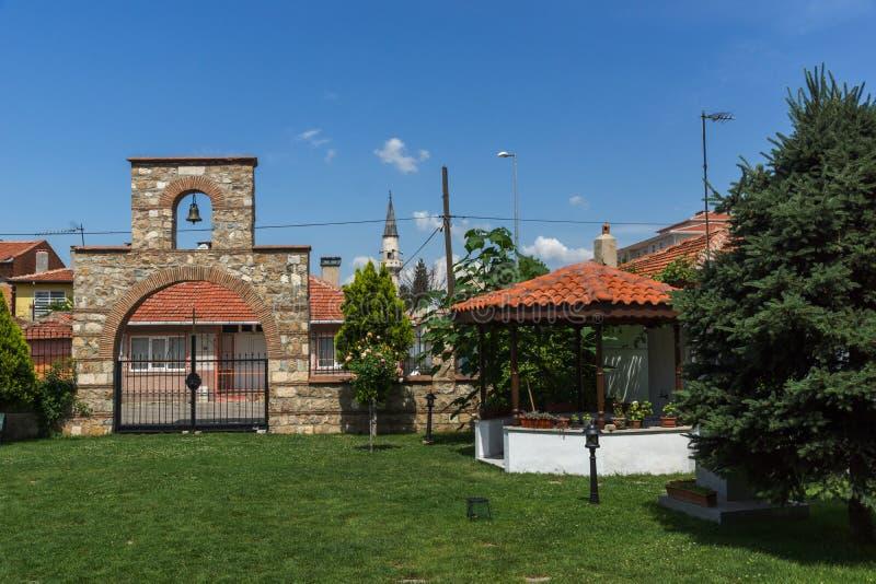 Église bulgare de saint Constantine et Ste.Hélène dans la ville d'Edirne, Turquie image libre de droits