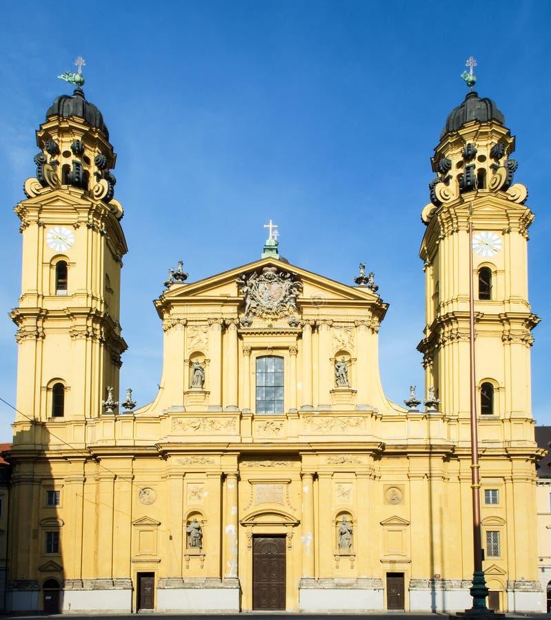 Église de Theatiner à Munich image libre de droits