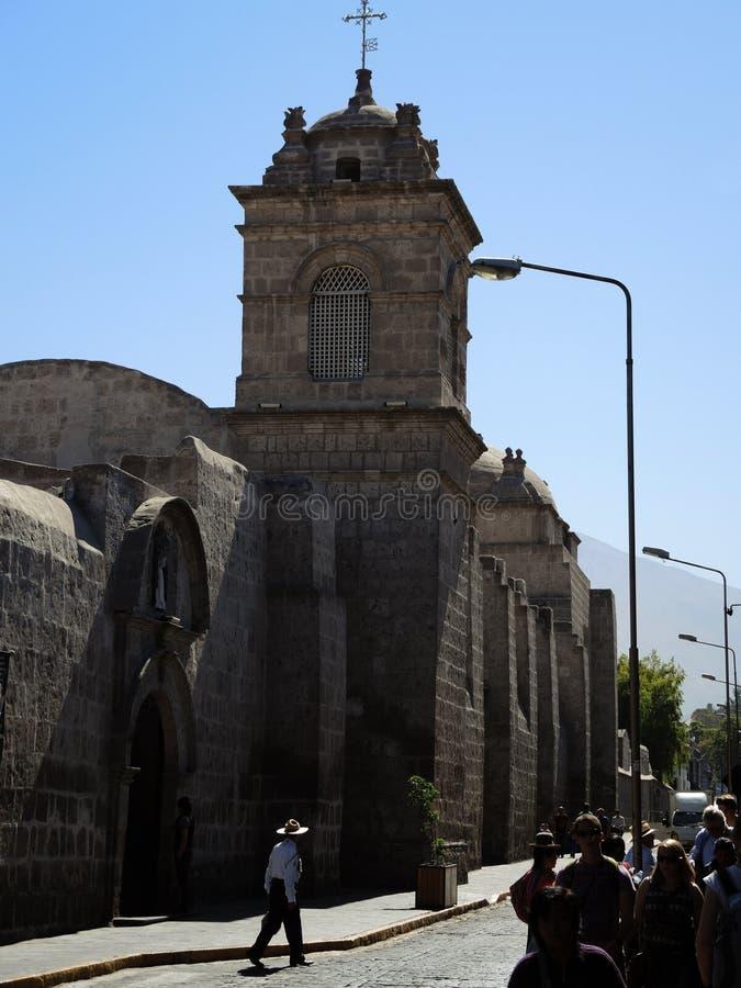Download Église Catholique Antique à Arequipa Photo éditorial - Image du colonial, downtown: 77163351