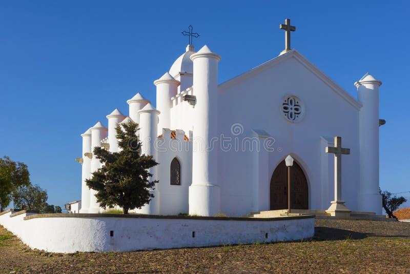Église catholique chrétienne de Mina de Sao Domingos dans l'Alentejo REGIO image stock
