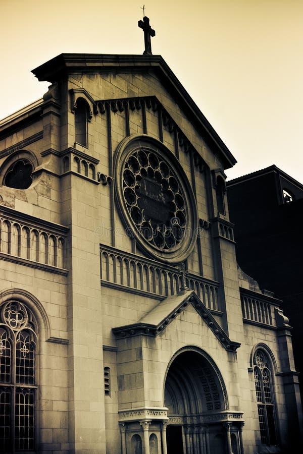 Église catholique de trinité sainte photo stock
