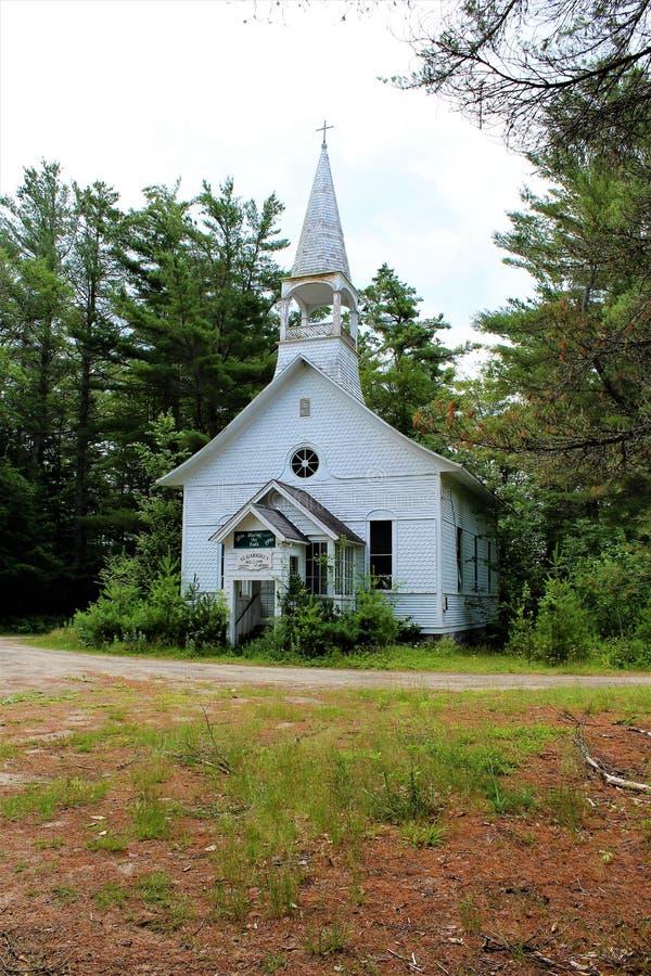 Église catholique du ` s de St Gabriel photo libre de droits