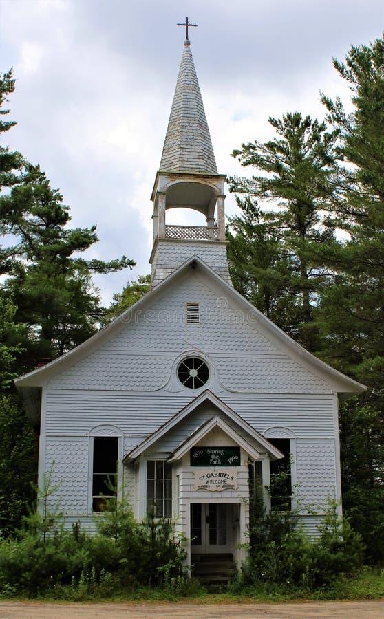 Église catholique du ` s de St Gabriel image libre de droits