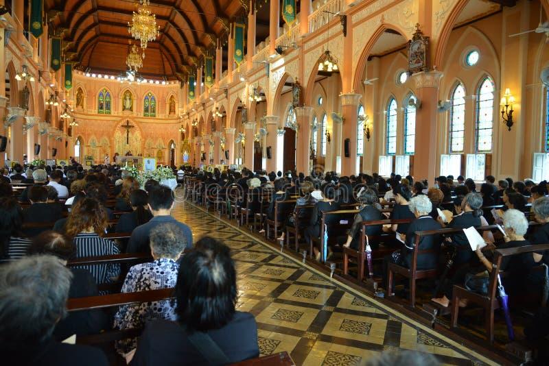 Église catholique en Thaïlande photo stock