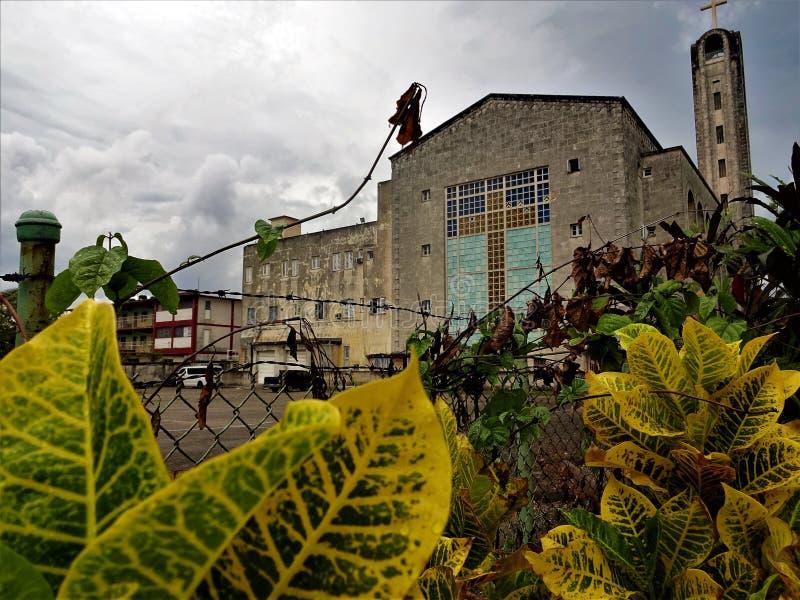 Église catholique Havana Cuba photo libre de droits