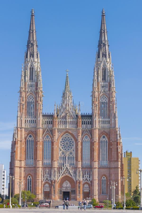 Église catholique principale de La Plata Buenos Aires photographie stock