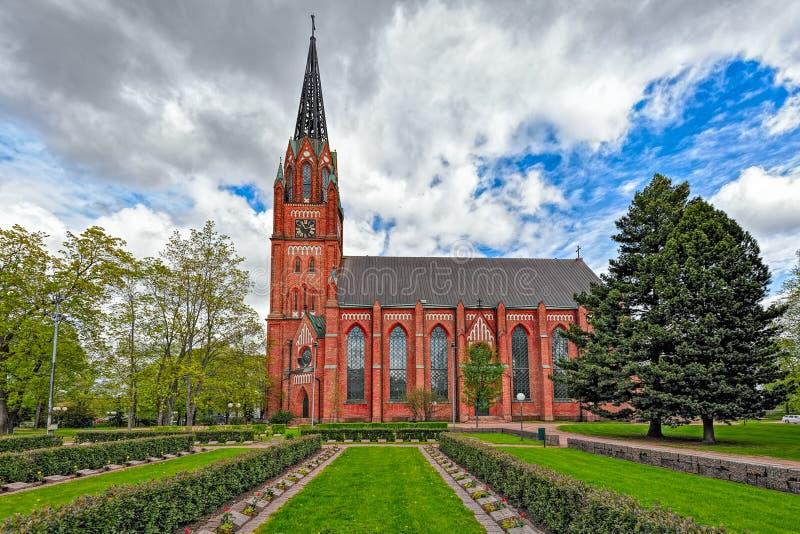 Église centrale de Pori photographie stock libre de droits