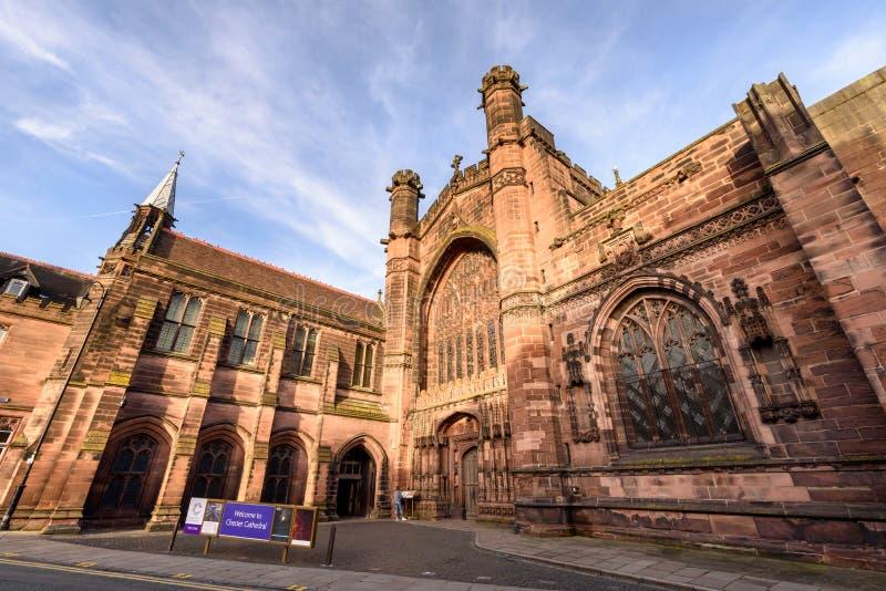 Église Chester R-U de cathédrale image libre de droits
