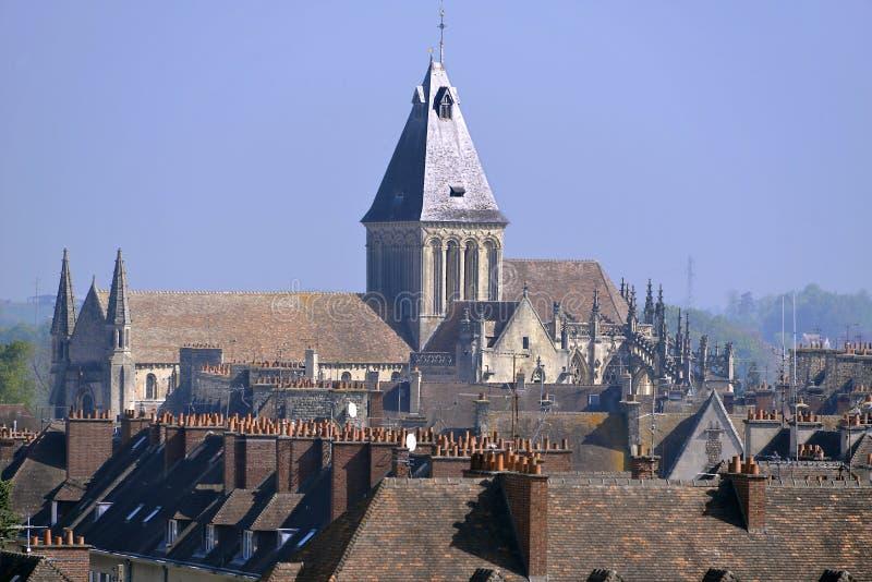 Église chez Falaise dans les Frances image libre de droits