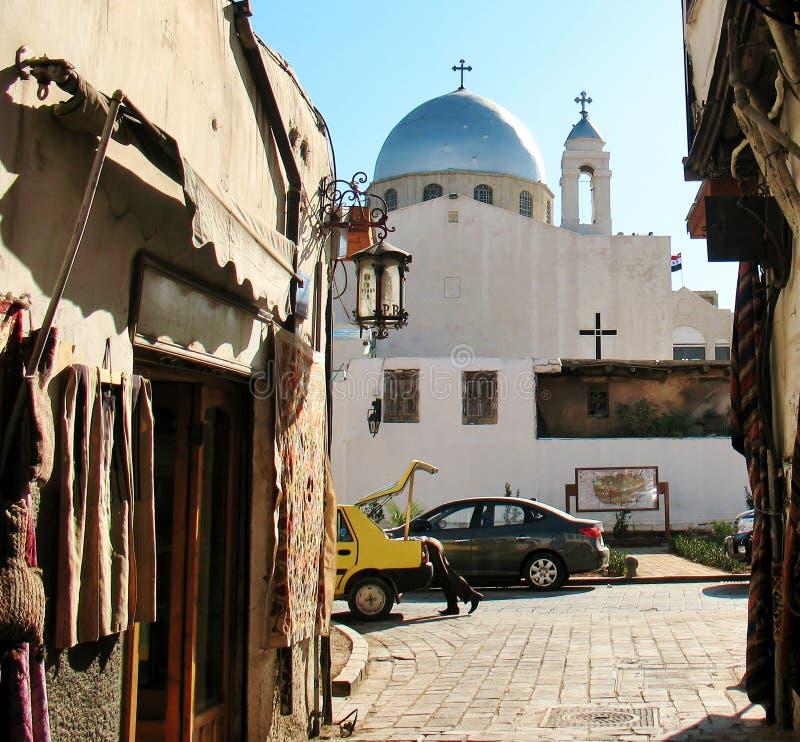 Église chrétienne à Damas photos libres de droits