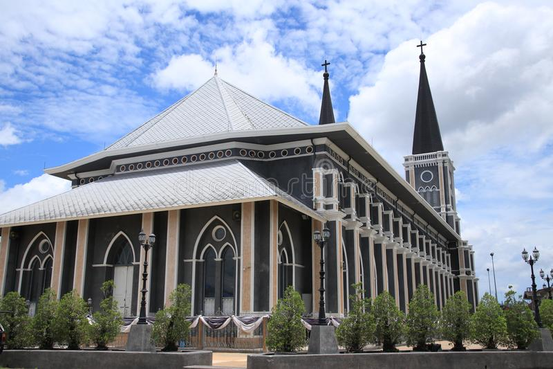 Église chrétienne photographie stock libre de droits