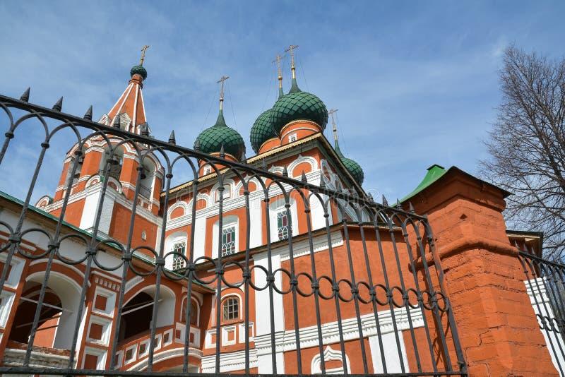 Église chrétienne d'Arkhangel Michael Yaroslavl, Russie image stock