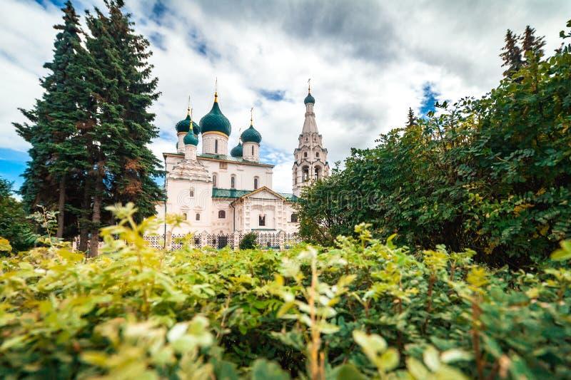 Église chrétienne dans Yaroslavl, Russie images libres de droits