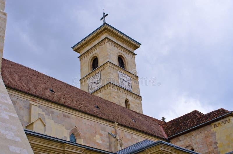 Église chrétienne en Alba Iulia, Roumanie images libres de droits