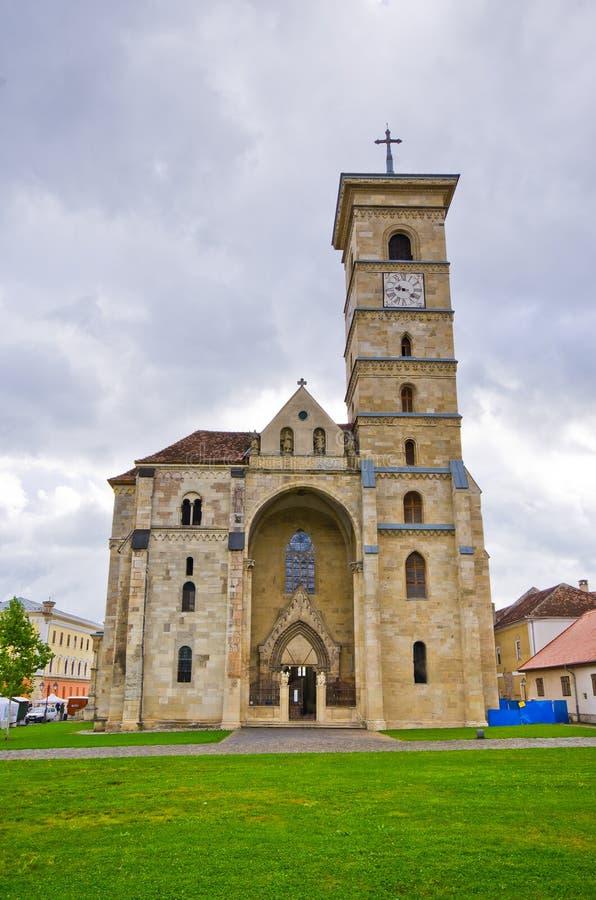 Église chrétienne en Alba Iulia, Roumanie photo libre de droits