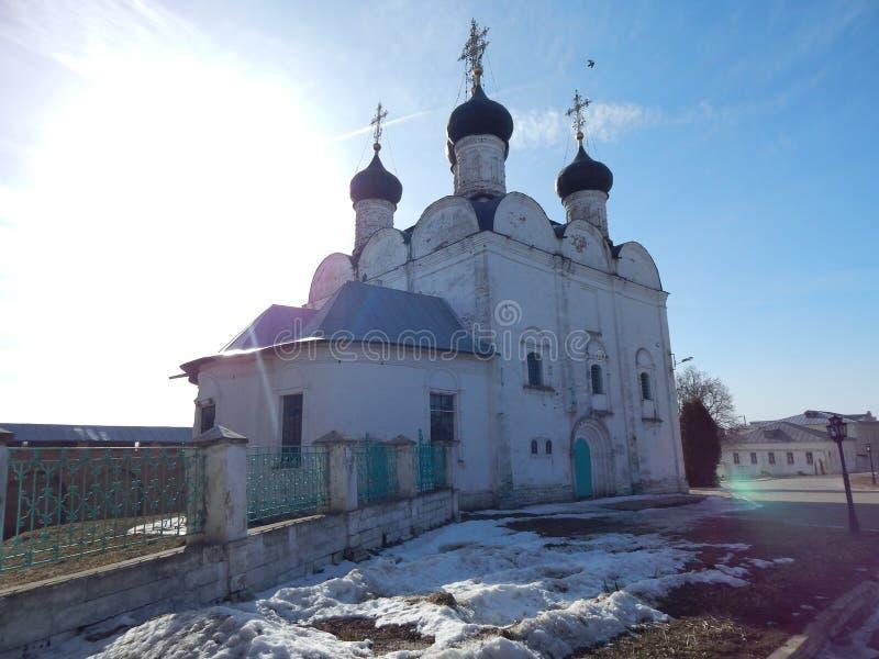 Église chrétienne russe images stock