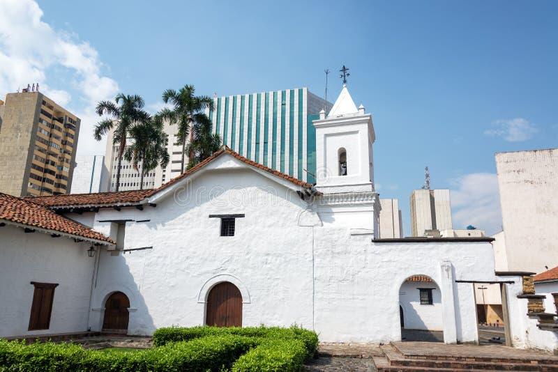 Église coloniale de Merced de La image stock