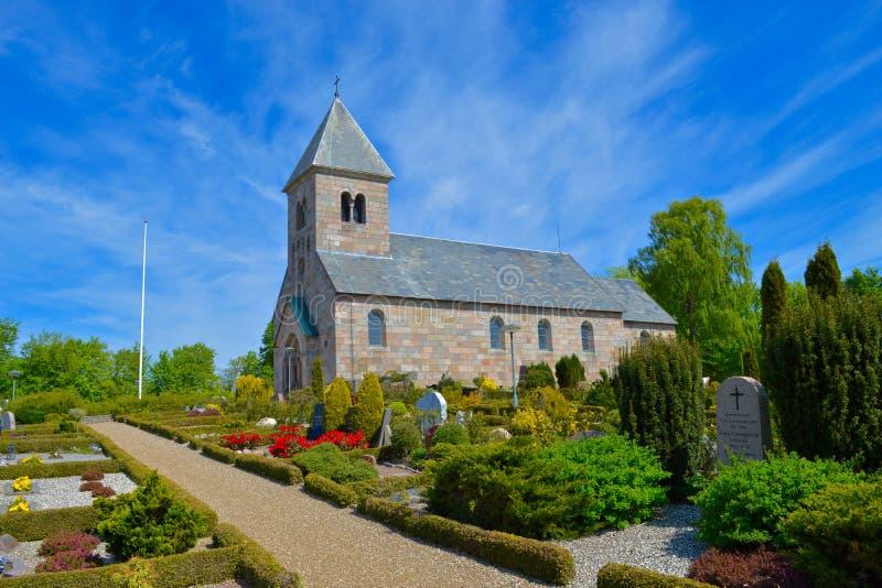 Église colorée image libre de droits