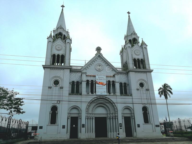 Église Costa Rica de San Ramon Catholic photo libre de droits