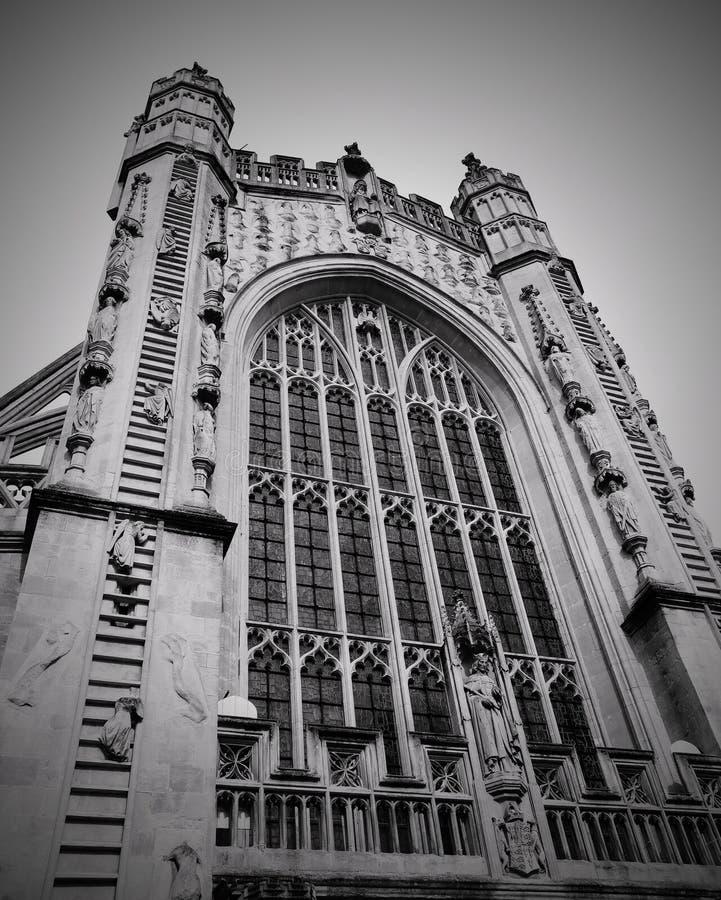 Église d'abbaye de Bath photographie stock libre de droits