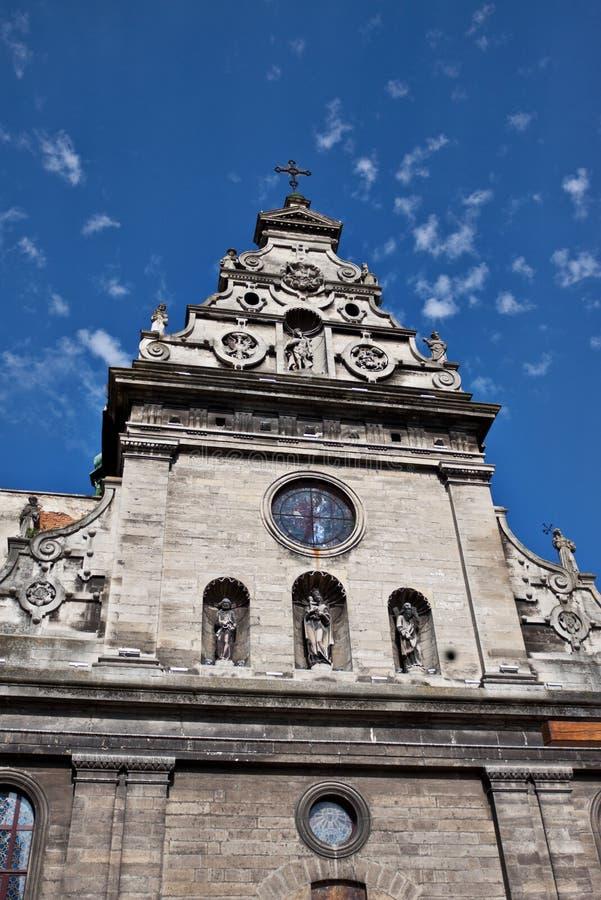 Église d'abbaye de Bernardines photographie stock
