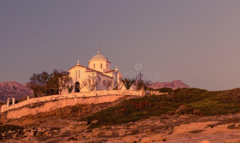 Église d'Agia Paraskevi, Grèce image libre de droits