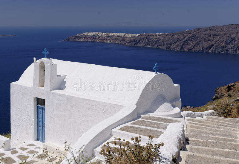 Église d'Agios Georgios photographie stock libre de droits