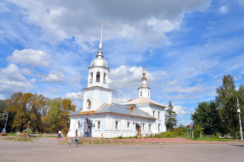 Église d'Alexander Nevsky dans Vologda photo stock