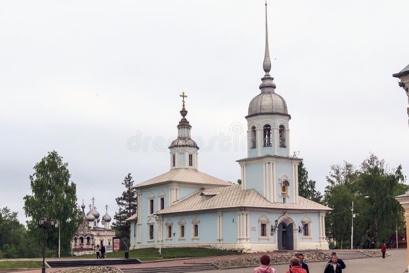 Église d'Alexandre Nevsky dans Vologda photographie stock libre de droits