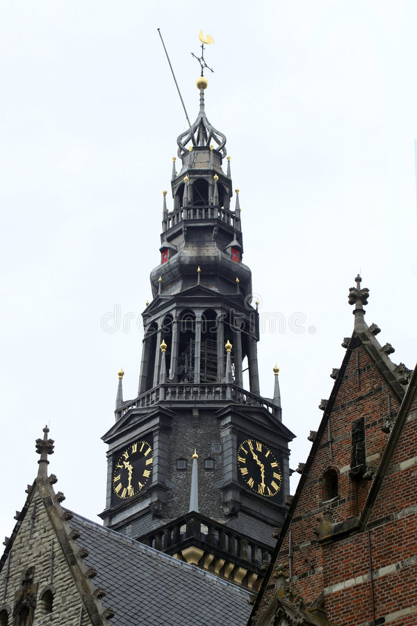 Église d'Amsterdam images stock