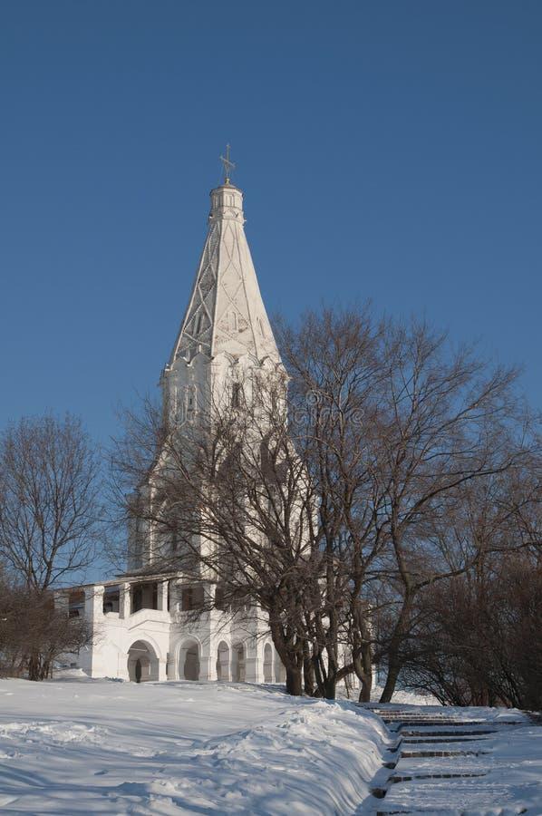 Église d'ascension dans Kolomenskoe photos libres de droits