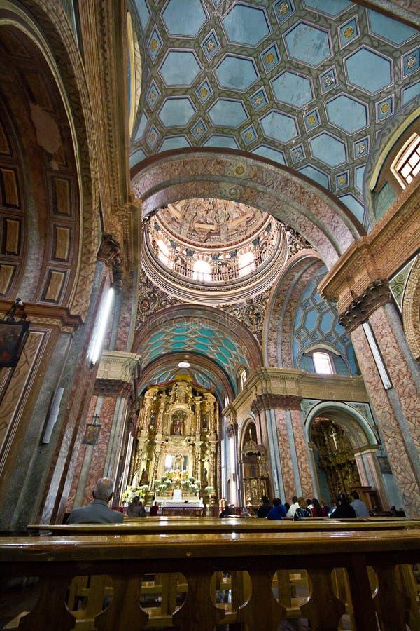 Église d'EL Sagrario, Quito, Equateur photos libres de droits