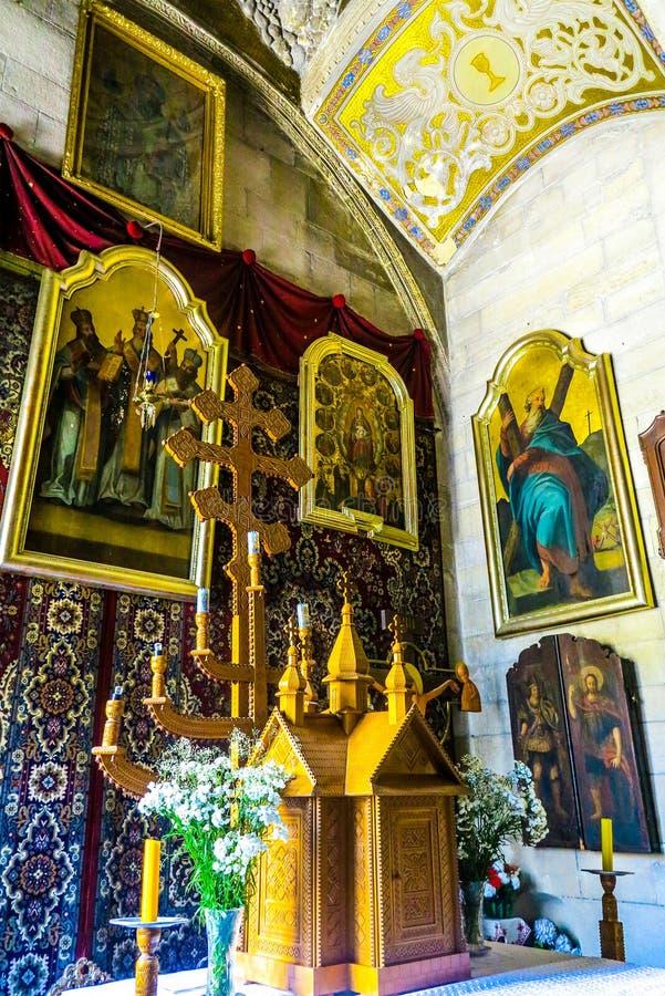 Église 02 d'hypothèse de Lviv photographie stock