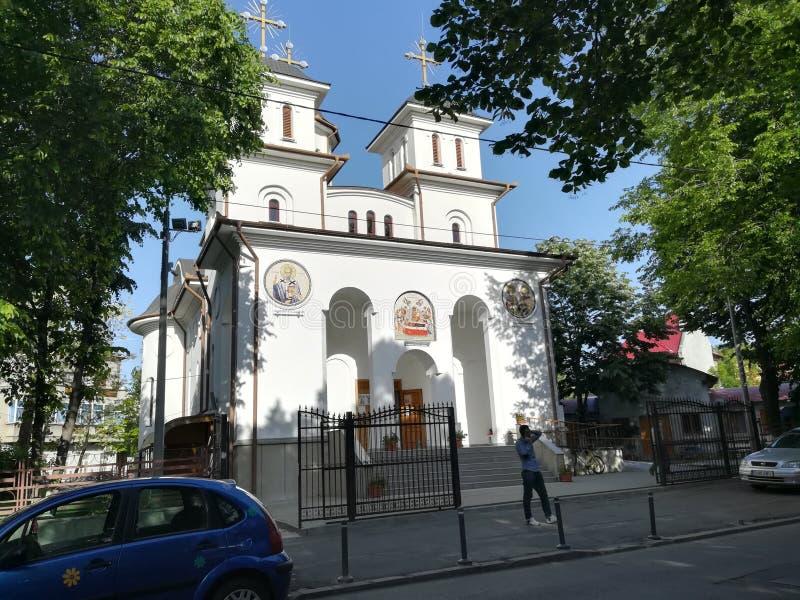 Église d'Iancu Vechi Mătăsari à Bucarest photo stock