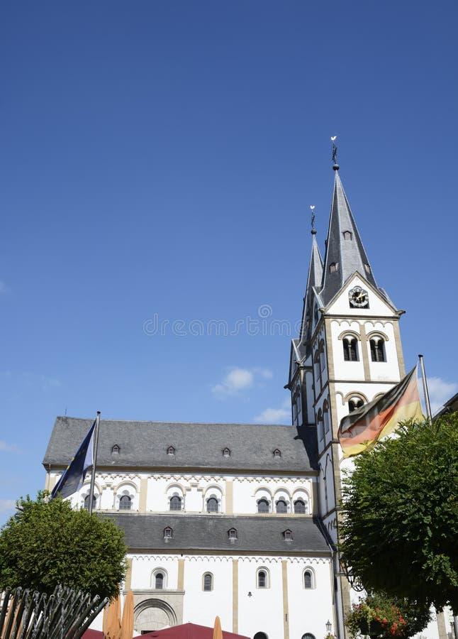 Église dans Boppard photographie stock