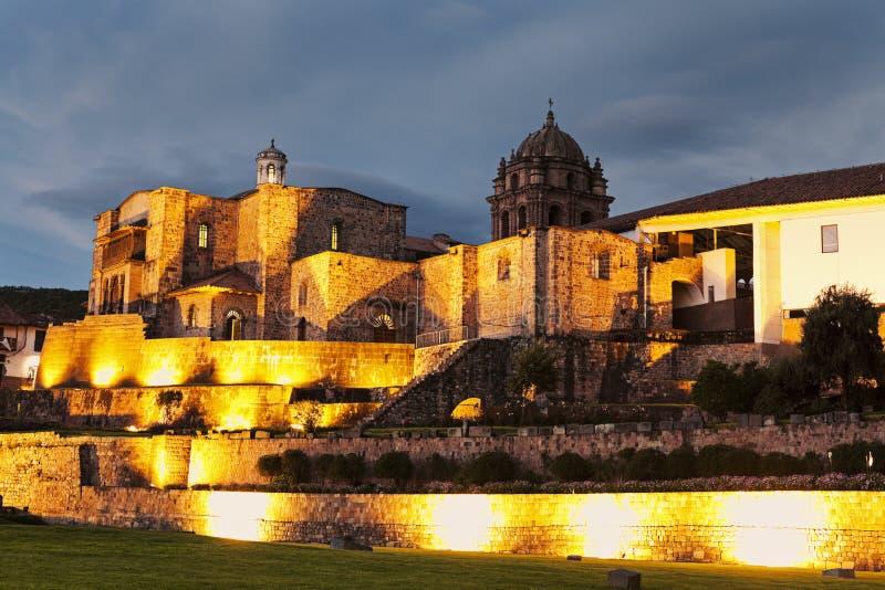 Église dans Cuzco image libre de droits