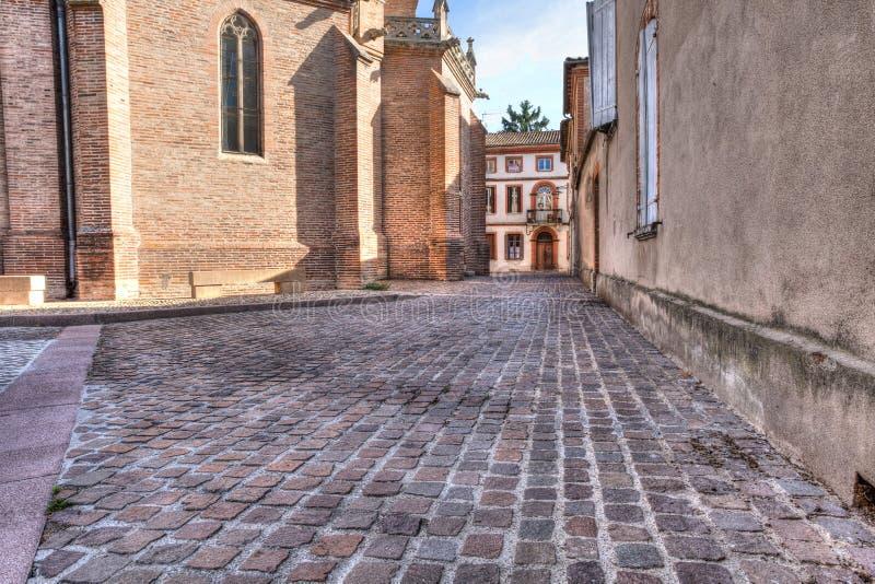 Église dans des Frances du sud Albi photographie stock libre de droits