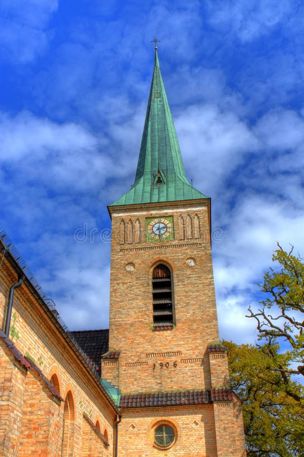 Église dans HDR photo stock