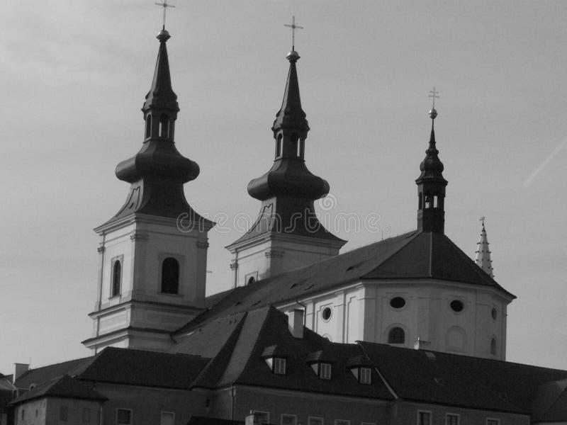 Église dans kadan photo stock