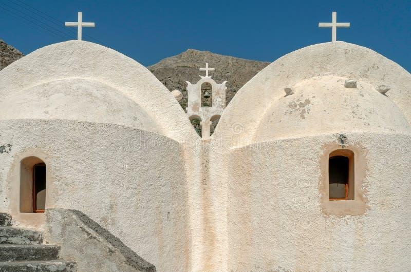 Église dans Kamari photos libres de droits