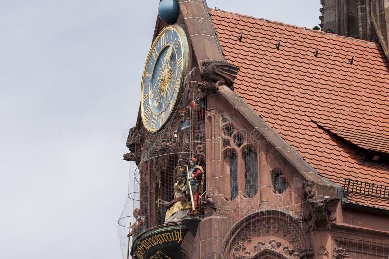 Église dans Nurnberg photographie stock libre de droits