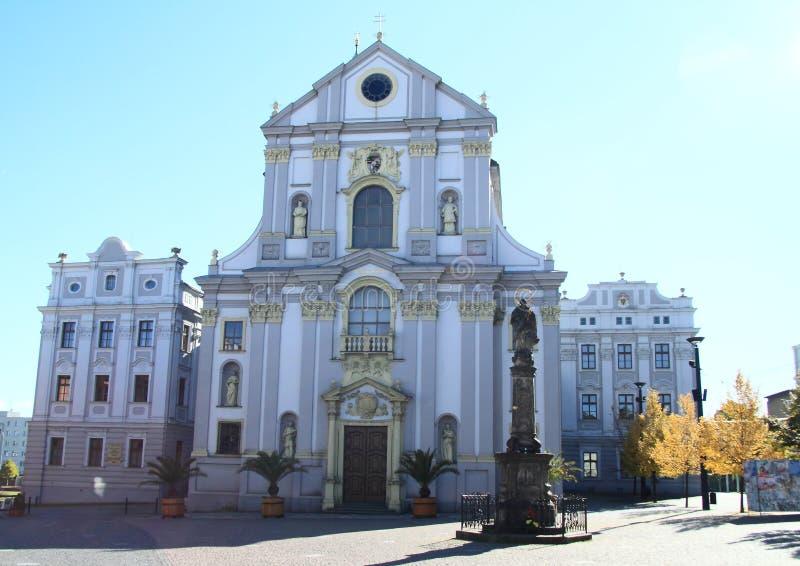 Église dans Opava photos libres de droits