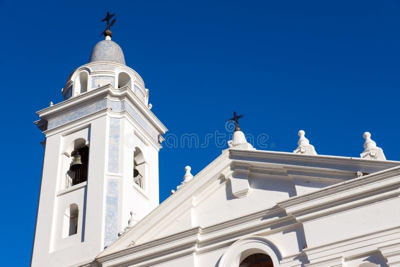 Église dans Recoleta, Buenos Aires photo libre de droits