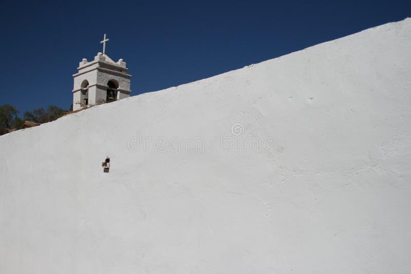 Église dans San Pedro de Atacama photographie stock libre de droits