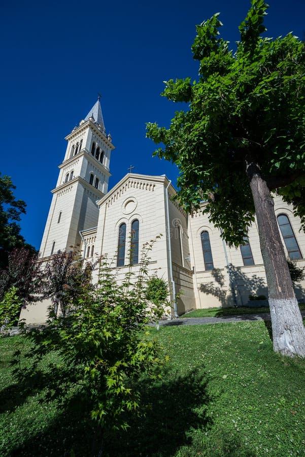 Download église dans Sighisoara image stock. Image du transylvania - 76077631