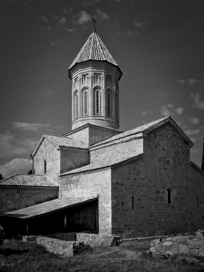 Église dans Telavi la Géorgie photographie stock