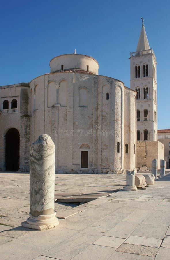 Église dans Zadar, Croatie photographie stock libre de droits