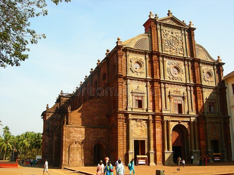 église de basilique image stock